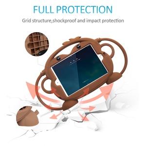 Image 3 - Custodia in Silicone CHINFAI per bambini per iPad mini 1 2 3 4 5 7.9 custodia atossica antiurto per iPad 2018 2017 Air2 Pro 9.7