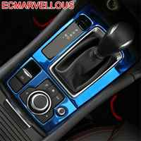 Cup Gear Panel Automobile Chromium Decorative Modified Car Styling Bright Sequins Modification Decoration 17 18 FOR Mazda Axela