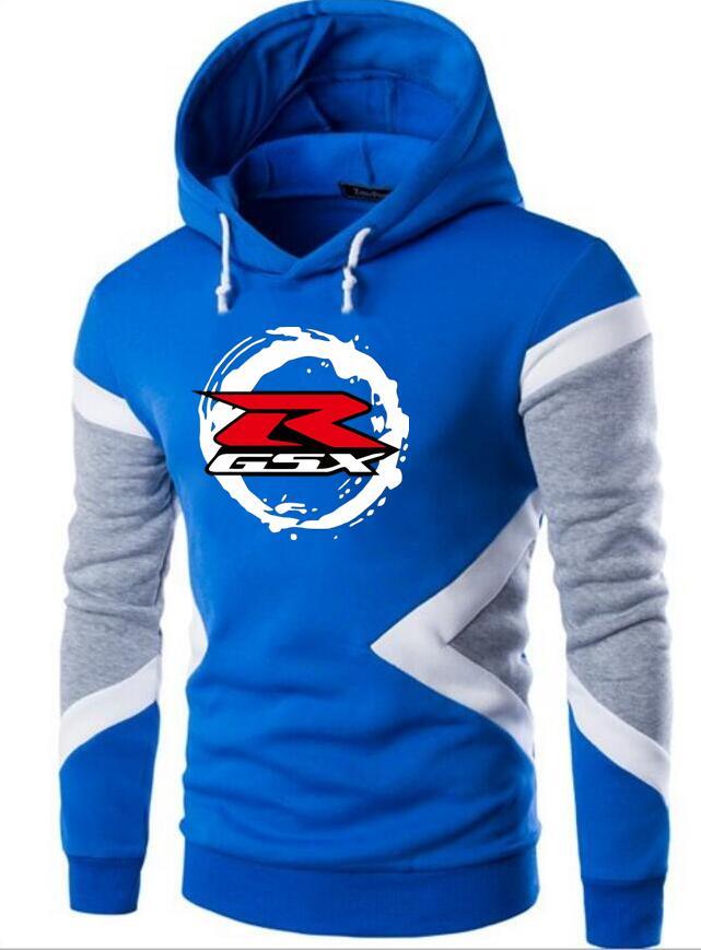 2019 Brand Suzuki GSX R Afdrukken Men Hoodies Herfst Jas Winter Men Hooded Sweatshirts Man Men Hoodie