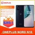 OnePlus Nord N10 5G Globale Version 6GB 128GB Snapdragon 690 Smartphone 90Hz Display 64MP Quad Cams warp 30T NFC