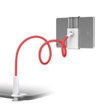SOONHUA uchwyt telefonu 360 obracanie elastyczne długie ramię uchwyt na telefon dla leniwych zacisk łóżko Tablet Car Selfie uchwyt mocujący dla 4-10 #8222 telefon tanie tanio centechia CN (pochodzenie) Ładowarka RUBBER PVC flexible pipe As the picture show 70cm 65mm(can be stretched to 190mm)