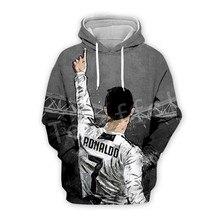 Tessffel Cristiano Ronaldo Athletes Tracksuit 3DfullPrint Hoodie/Sweatshirt/Jacket/shirts Mens Womens hiphop fit casual style-11
