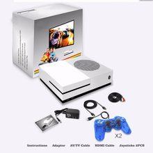 Consola de videojuegos HD para TV, 4GB, compatible con HDMI TV, 600 juegos clásicos integrados para GBA/CP1/CP2/SMD/SNES/NES/FC