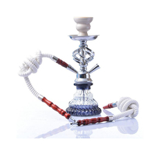 Double Tube Hookah Narguile Completo Chicha Acrylic Arabian Set Shisha Waterpijp Accessories Gift To Friend Father