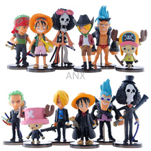 one piece dxf usopp the grandline men 15th edition vol 2 figure japan anime collectible mascot kid toys 100% original 5-8CM One Piece Figure Toys Luffy Zoro Nami Usopp Sanji Chopper Robin Franky Brook PVC Action Anime 7pcs/set Figure 9pcs/set Toy