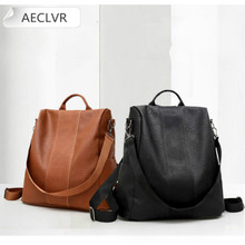 Backpack Bags for Women 2020 Casual Fashion Small Black  Laptop Backpack Women Leather  Bookbag Purse backpack xiaomi travel