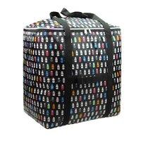 Wasserdichte Oxford tuch große kapazität portable faltung reisetasche air Tote Duffle Taschen Große Gepäck tasche