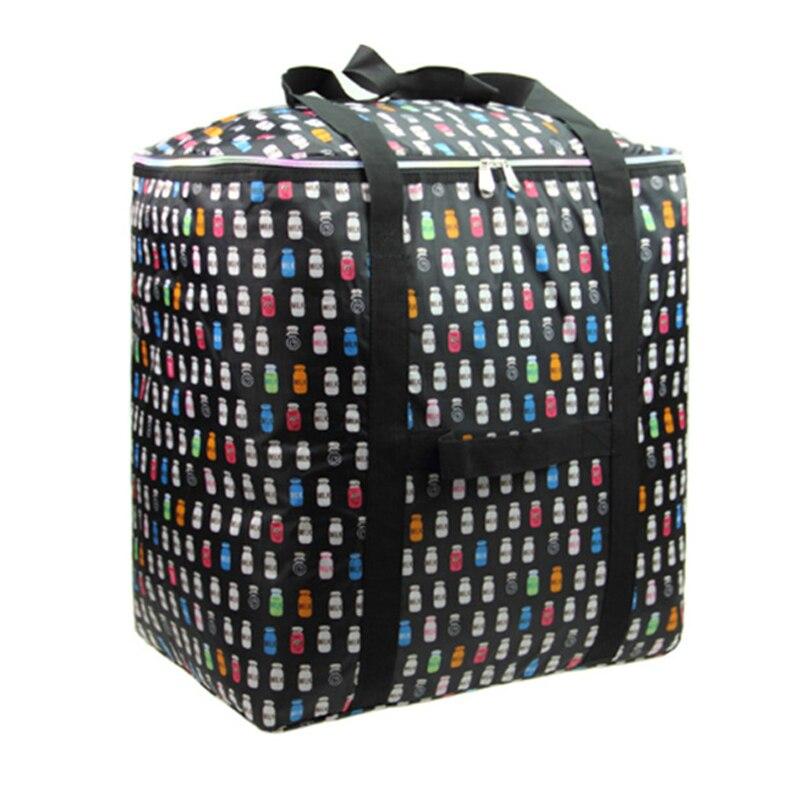 Waterproof Oxford cloth large capacity portable folding travel bag air Tote Duffle Bags Big Luggage bag