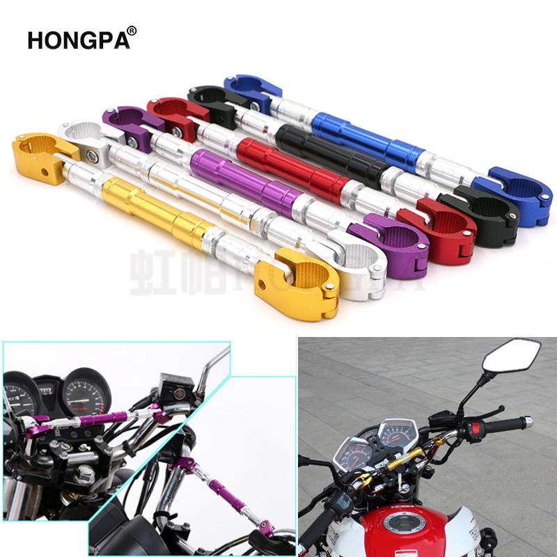 Motorbike Grips Handle Bar Universal Adjustable Cross Bar Steering Wheel Strengthen Aluminum Alloy Brace Qiyun 22mm Motorcycle Handlebar