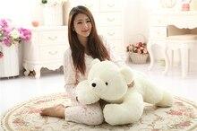 Super Lovely Polar Bear Family Stuffed Plush Placating Toy Gift for childern цена