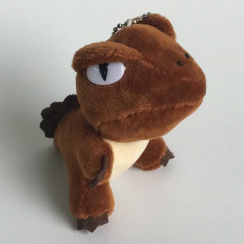 Hot 3 Colori Kawaii Mini Dinosauro Giocattolo Dragon Peluche Ripiena Giocattolo 10 Centimetri di Altezza Keychain Del Pendente Del Giocattolo Della Peluche Della Bambola