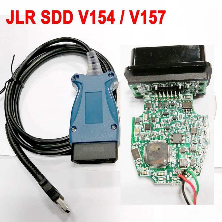 V154 V157 JLR Pro For Land Rover JLR OBD2 Scanner Support 2005 TO 2014 2016 JLR V154 SDD PRO Auto Diagnostic Tool For Jaguar