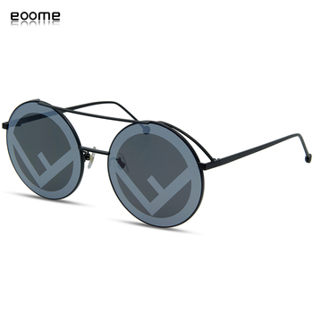 eoome Sunglass women 2020 Oversize Round Designer Sun Glasses lunette de luxe femme солнцезащитные очки occhiali da sole donna