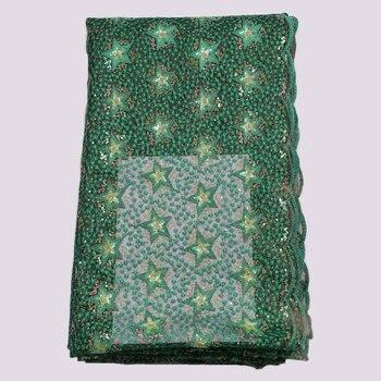 2020 Nigerian Lace Fabrics High Quality African Fabric  French fabrics for Wedding Dress YSE-20029