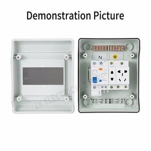 Image 3 - IP67 Scatola di Distribuzione Interruttore Aria Scatola Industria Domestica Presa di Alimentazione Box di Alimentazione Montato Circuit Breaker Difesa Pioggia