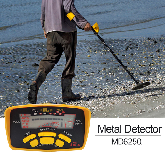 MD-6250 TIANXUN Professional Metal Detector High Performance Underground metal finder for Gold Digger Treasure Seeking Hunter 6