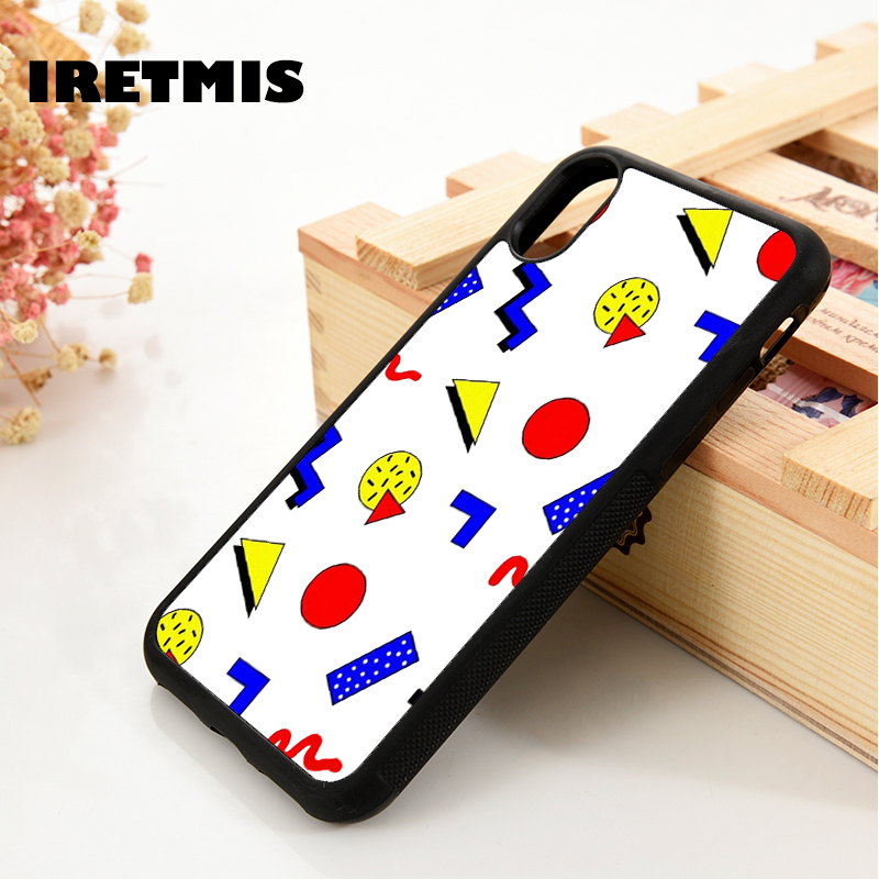 Iretmis 5 5S SE 6 6S Soft TPU Silicone Rubber Phone Case Cover For IPhone 7 8 Plus X Xs 11 Pro Max XR Emma Chamberlain