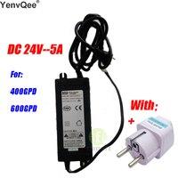 물 필터 부품 부스터 펌프 변압기 DC24V-5A 300GPD 400 GPD 600GPD 정수기 역삼 투 기계
