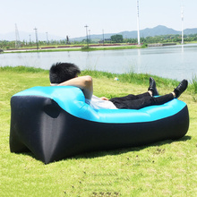 2020 Outdoor Inflatable Bed Portable Air Mattress Cushion Sofa Sand Beach Pillow Camping Hiking Backpacking Travel Waterproof