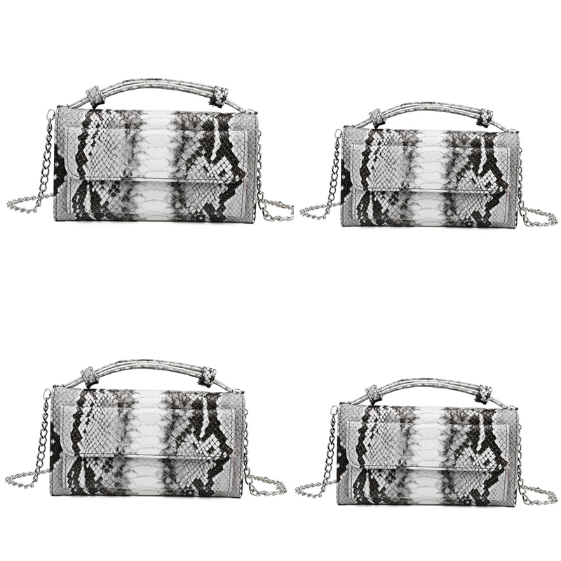 Shoulder-Bags Crocodile Clutch Snake-Skin Women Handbag Small New-Fashion Feminina Bolsa
