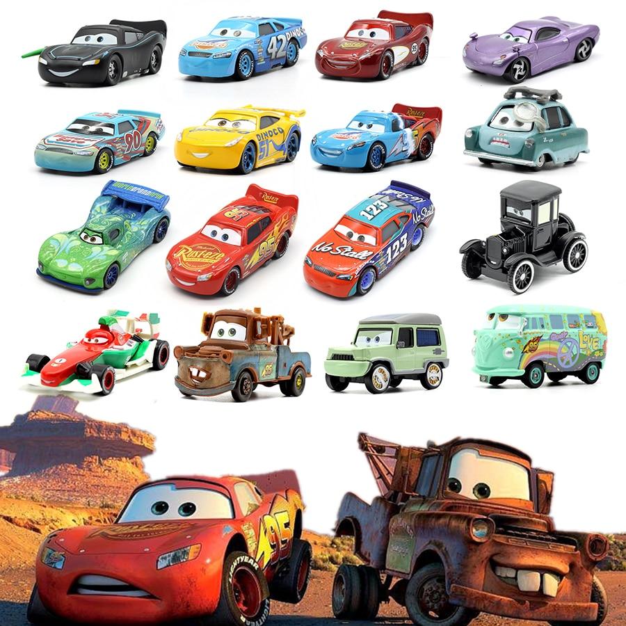 Cars Disney Pixar Cars 3 2 Finn McMissile Metal Diecast Toy Car 1:55 Die Cast Metal Alloy Model Toy Car Kid Boy Gift McQueen Car