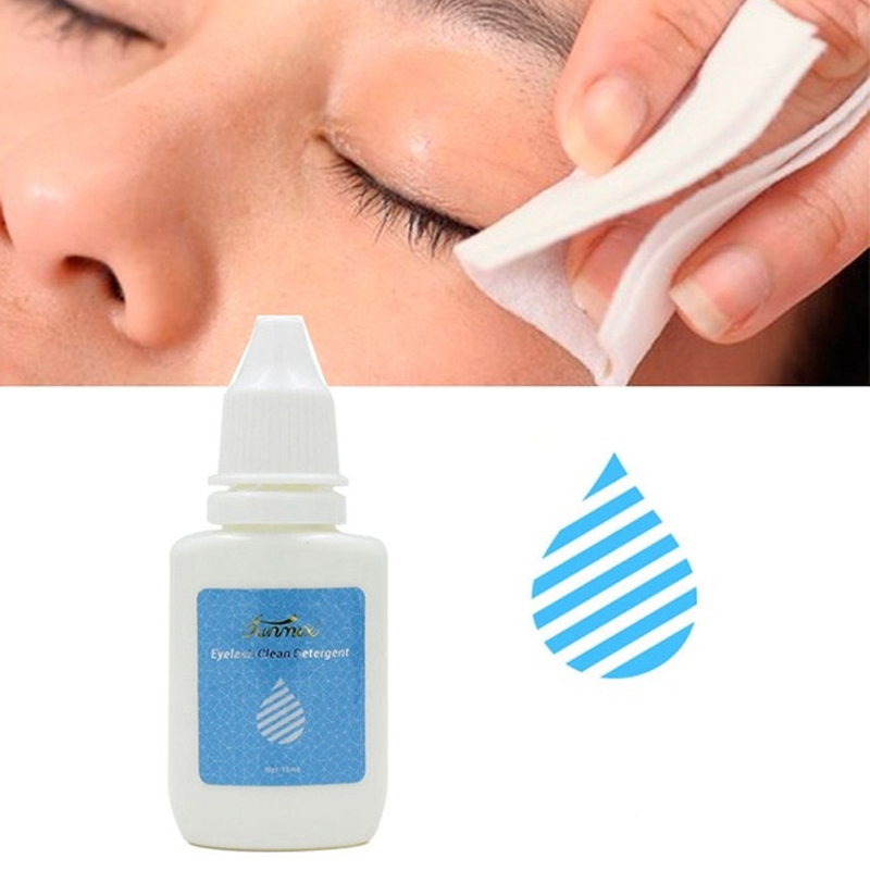 Grafting Eyelashes Clean Liquid Eyelash Glue Remover Cleaning Individual False Lashes Extension Before Adhesive Eyelash Clean