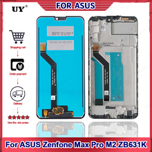 """""""Original Display For ASUS ZB631KL Display Touch Screen For ASUS Zenfone Max Pro M2 ZB631KL LCD Display Replacement Part 6.26""""""""LCD"""""""