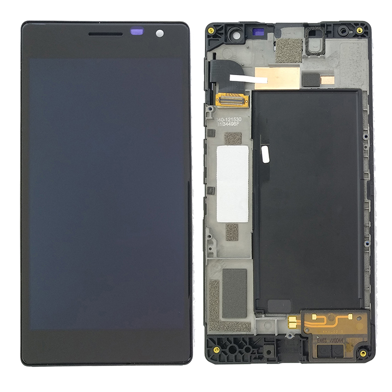 100% Test for <font><b>Nokia</b></font> Lumia 730 735 RM-1038 RM-1039 RM-<font><b>1040</b></font> LCD screen touch screen digitizer assembly with lcd frame replacement image