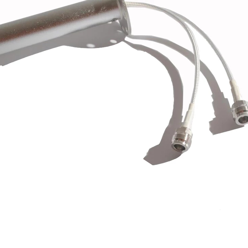 Long distance ultra 3G 4G LTE antenna feed 1700-2700MHz Outdoor Antenna feed 2X24dBi External Antenna with N female 5