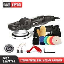 SPTA – polisseuse à double Action à rotation forcée, 5 pouces/6 pouces, 125mm, polisseuse DA pour voiture et tampons de polissage