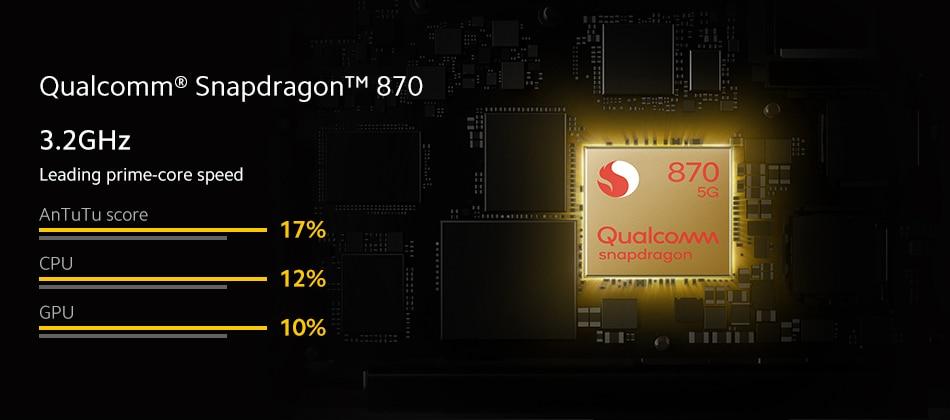 Global Version Xiaomi POCO F3 5G Smartphone Snapdragon 870 Octa Core 8GB 256GB