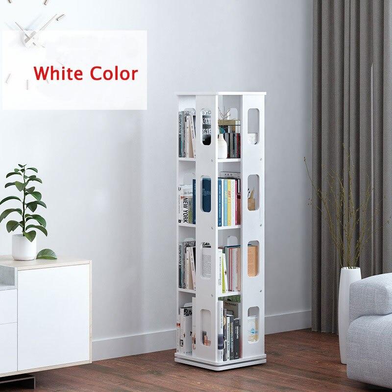K-STAR, estantería giratoria de 360 grados, estantería de almacenamiento de madera maciza para niños, sala de estar estantes para, nuevo organizador de libros y revistas