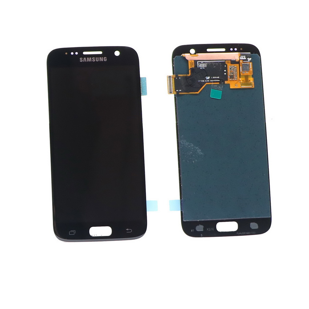 100% ORIGINAL 5.1'' LCD For SAMSUNG Galaxy S7 Display G930 G930F Touch Screen Digitizer Assembly with Frame No burn red mark
