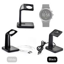 цена на New Replacement Multi-functional Wireless Charging Stand Fossil Gen 5 & Fossil Gen 4 Charger For Fossil Gen 4 &5 Smartwatches