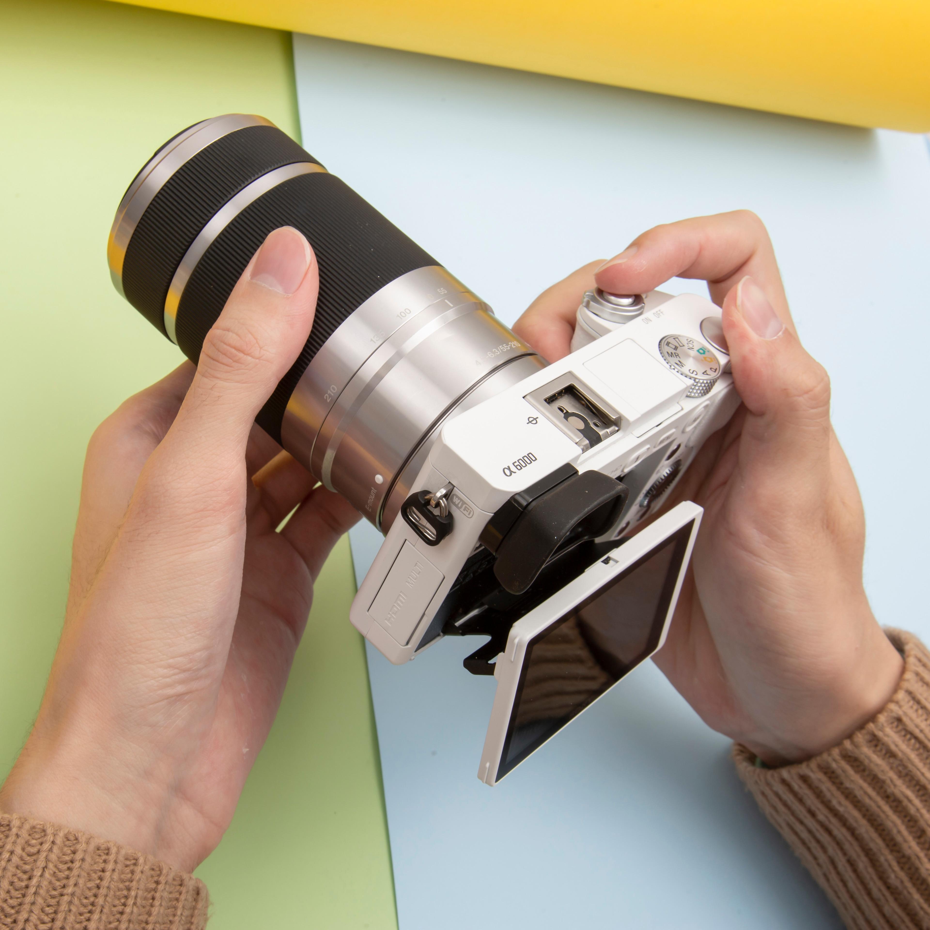 Объектив Sony 55-210 E 55-210 мм f/4,5-6,3 OSS E-Mount Lens (SEL55210) для Sony A5000 A5100 A6000 A6300 A6500 NEX6 NEX7 NEX5R NEX5T