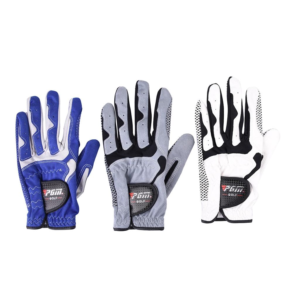 1 Pcs Golf Gloves Left Hand Soft Breathable Male Slip-resistant Granules Microfiber Cloth Gloves Golf Accessories