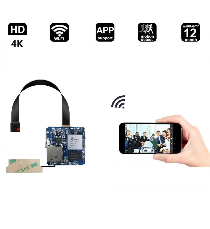 16MP Real 2,7 K 4K беспроводной P2P мини модуль камеры DV видео рекордер Цифровой маленький DIY модуль камеры видеокамеры