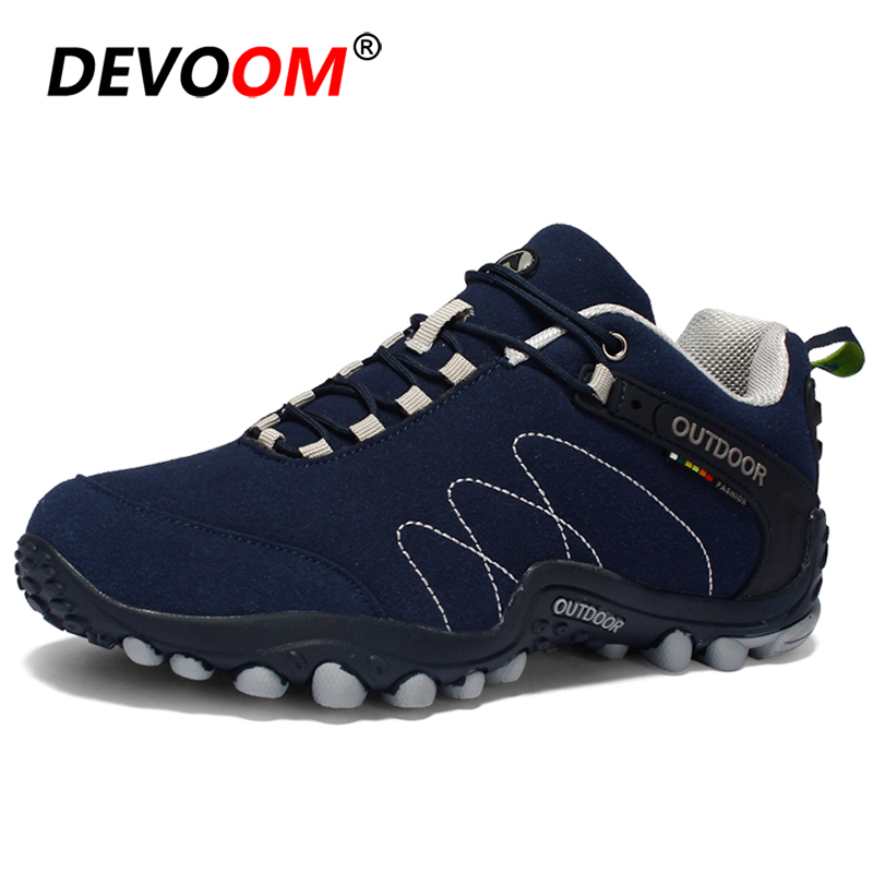 New Outdoor Mens Hiking Shoes Breathable Mountain Waterproof Shoes Sneakers Men Women Anti-Slip Unisex Climbing Trekking Shoes