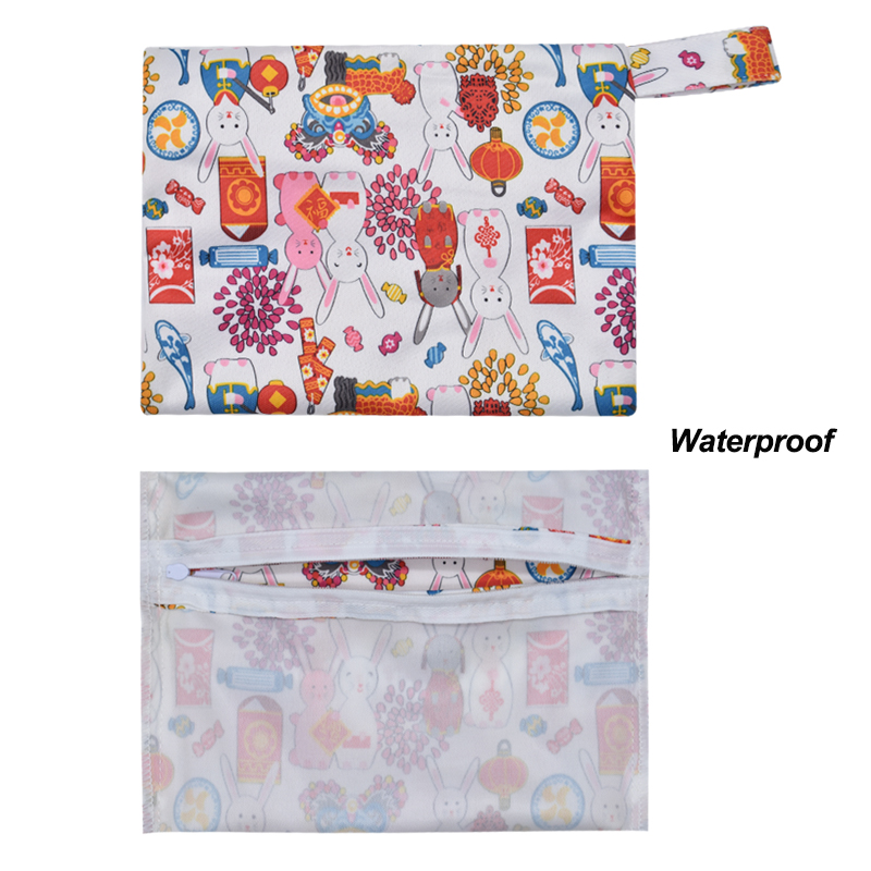 Waterproof Cloth Menstrual Pads Bag (5)