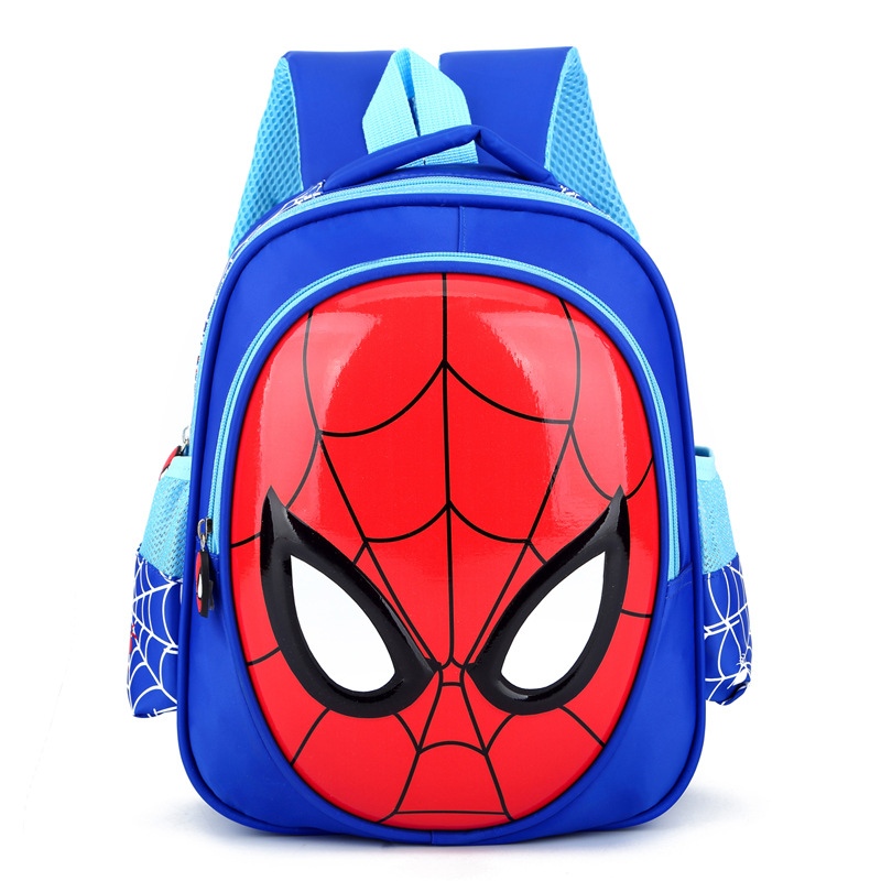 School Bags For Boys + Gift 3 6 Year Old Waterproof Backpacks Child Spider Book bag Kids Shoulder Bag Satchel Knapsack 3D|School Bags| |  - title=