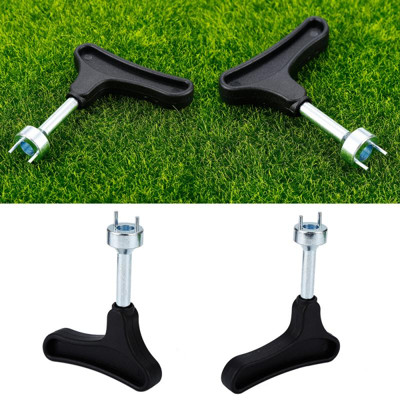 1pcs Golf Spike Wrench Remover Tool Outdoor Golf Sport Golf Shoe Cleats Ratchet Handle Accessories Handheld Spikes Training Aids