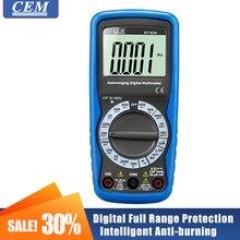 Multímetro digital display digital de alta precisão cem dt920/DT-920N/DT-922 proteção de gama completa inteligente anti-queimadura econômica