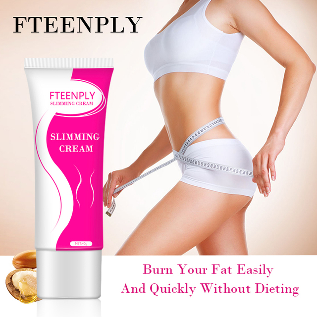 FTEENPLY Slimming Cream Cellulite Removal Weight Loss Creams Skin Firming Lifting Nourishing Body Care Fat Burning Gel 40g 4