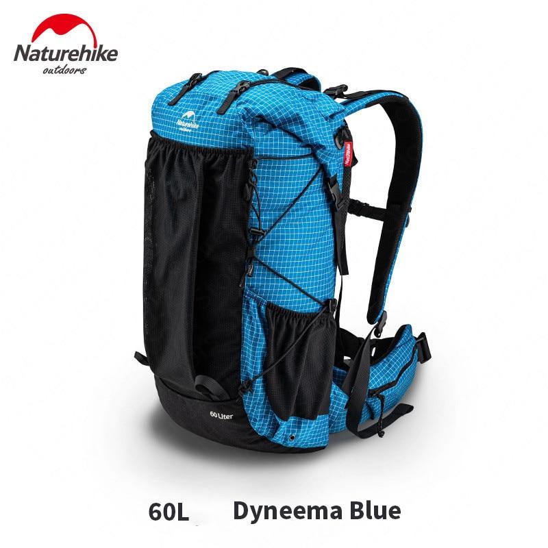Туристический рюкзак Naturehike, туристический рюкзак большой емкости, 60 + 5 л, легкий, Серия Rock