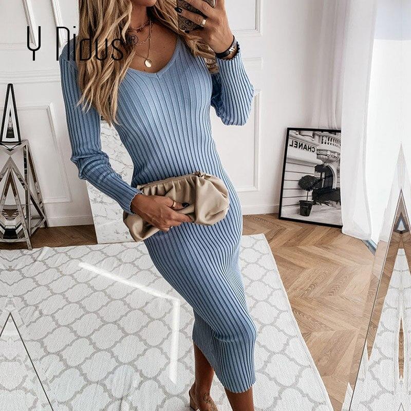 Теплые женские платья на Алиэкспресс