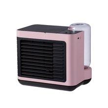 Fan Three-Gear Water-Cooling-Fan Small Usb Mini Negative-Ion Wind-Speed Low-Noise Rechargeable