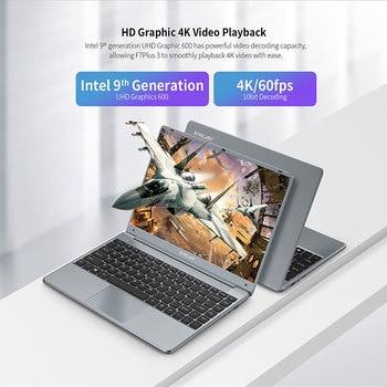 Teclast F7 Plus 3 Laptop 14.1″ 1920 x 1080 8GB RAM 256GB SSD Intel Gemini Lake N4120 Windows 10 Dual-band Wi-Fi Notebook USB 3.0 4
