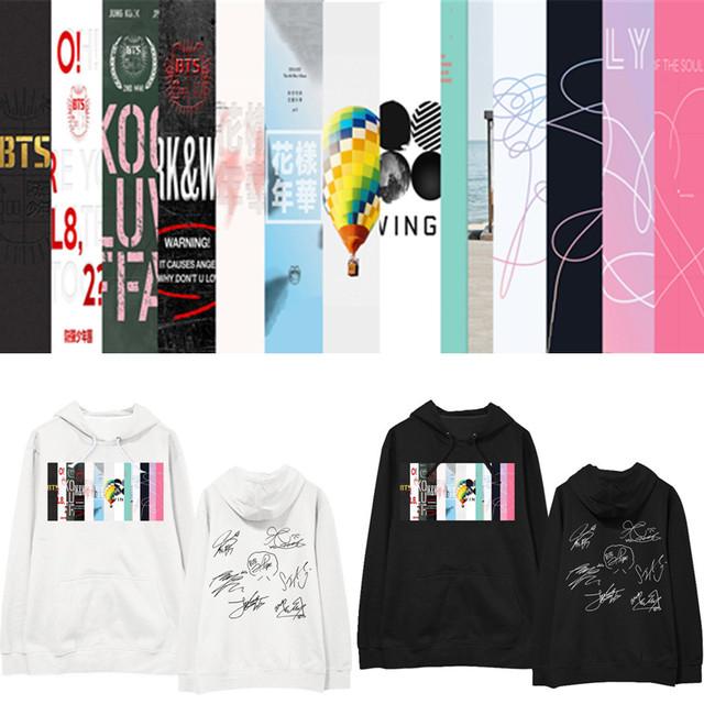 BTS SIGNATURE HOODIE (7 VARIAN)