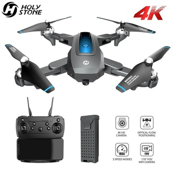 Holy Stone HS240 Drone 4K Profesional FPV Drone With Camera HD 4K Quadrocopter Foldable RC Quadcopter With 13 Mins Flight Time original xiaomi camera drone hd 4k wifi fpv 5ghz quadcopter 6 axis gyro 3840 x 2160p 30fps rc quadcopters with pointing flight