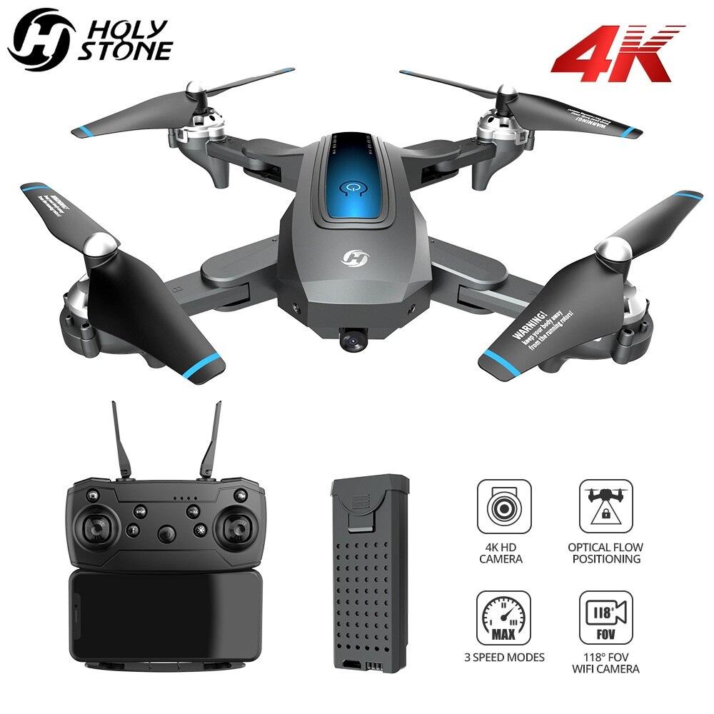 Zangão de pedra sagrada hs240 4 k profesional fpv zangão com câmera hd 4 k quadrocopter dobrável rc quadcopter com 13 minutos de tempo de vôo